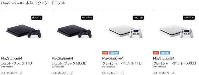 "PS4 新色""グレイシャー・ホワイト"""