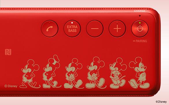 ワイヤレスポータブルスピーカー h.ear go(SRS-HG1)「A Pictorial History of Mickey Mouse」