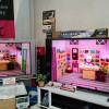 当店テレビ展示比較コーナーに当時のハイエンドモデル「KDL-46X2500」を追加しました!