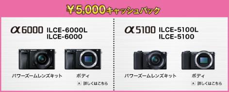 α6000 α5100
