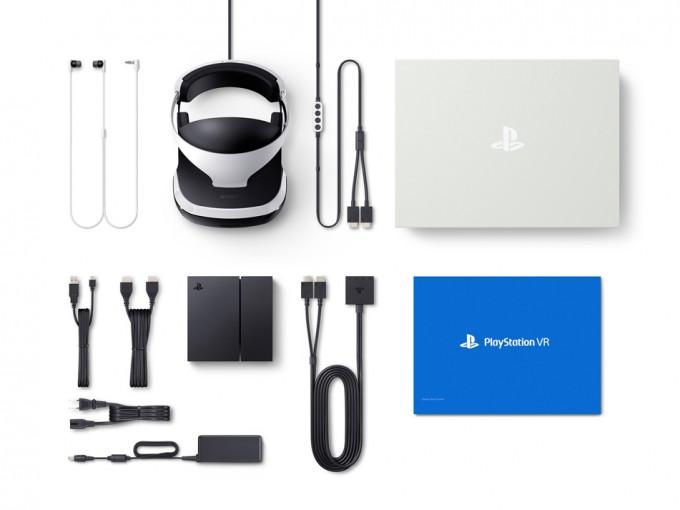 「PlayStation VR」同梱物