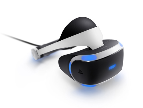 「PlayStation VR」VRヘッドセット