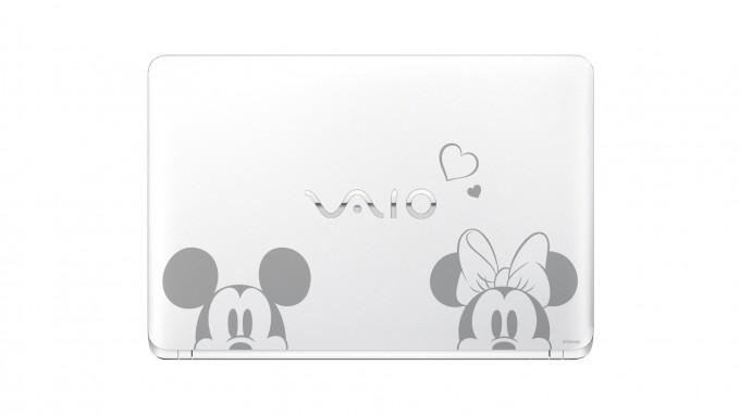 VAIO S15「VJS1511」Disneyキャラクターデザインモデル「ミッキー&ミニー」