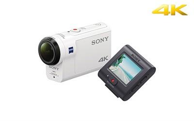 デジタル4Kビデオカメラレコーダー アクションカム ライブビューリモコンキット『FDR-X3000R』