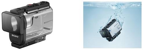 雨の日でも使える本体防滴性能※3や水深60mまで水中撮影可能なアンダーウォーターハウジング