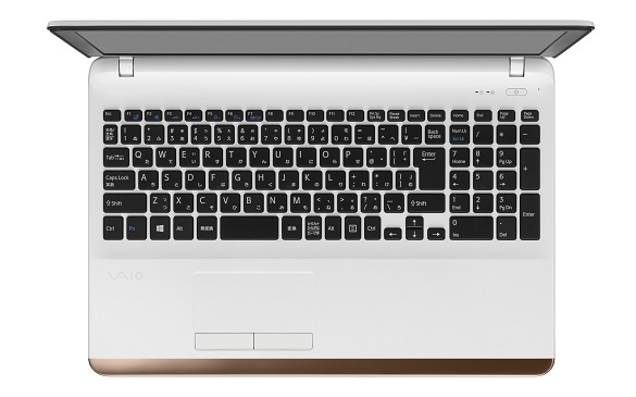 VAIO C15「VJC1511」テンキー付きフルサイズキーボード