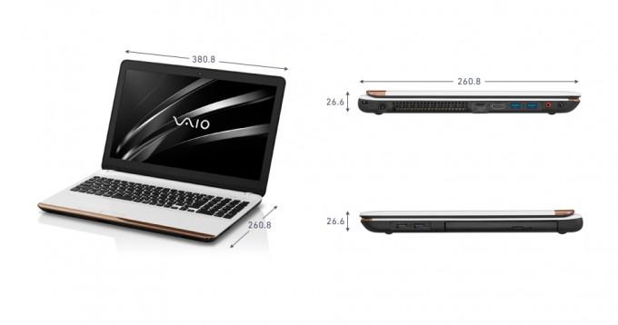 VAIO C15「VJC1511」サイズ