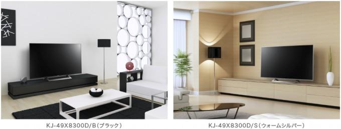 X8300Dシリーズ「KJ-49X8300D・KJ-43X8300D」