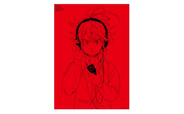 ソニーストアオリジナル「七つの大罪」描き下ろしイラストポスター