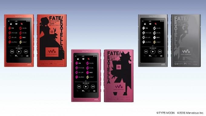 ウォークマン A30シリーズ「Fate/EXTELLA Edition」