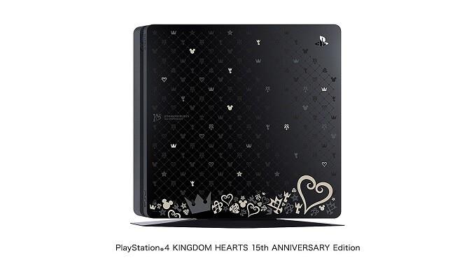 PS4 キングダムハーツ 15th ANNIVERSARY Editionトップカバー