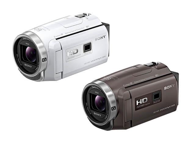 HDハンディカム「HDR-PJ680」「HDR-CX680」