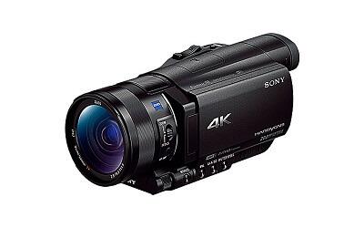 4Kハンディカム FDR-AX100
