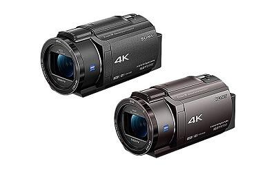 4Kハンディカム FDR-AX40