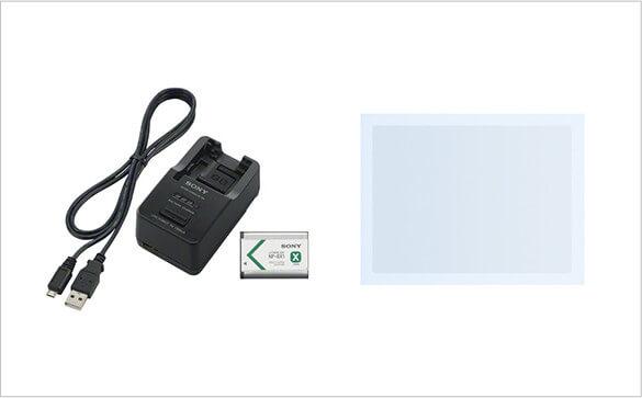 RX100シリーズ、HX90V、WX500用アクセサリーセット