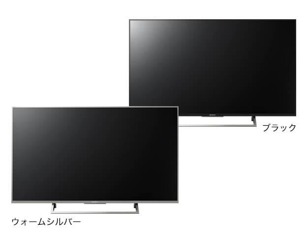 4K液晶テレビ X8000Eシリーズ