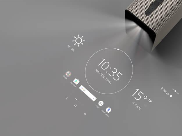"""""""巨大タブレット""""「Xperia Touch(G1109)」"""