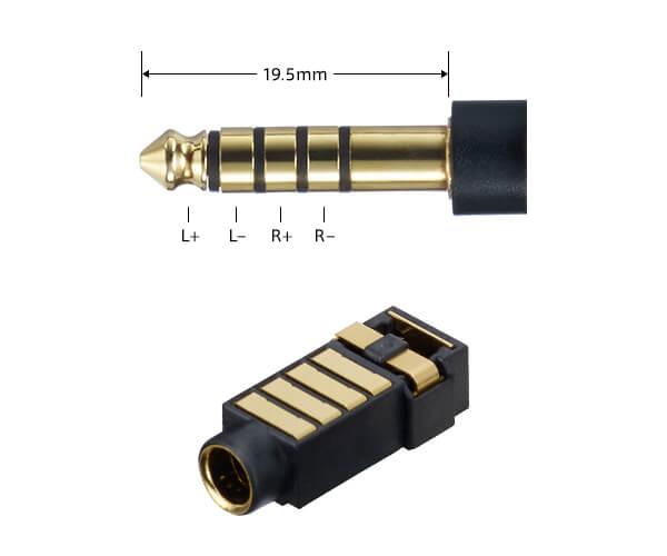 ウォークマン「NW-ZX300」バランス出力対応、接続安定性の高いΦ4.4mm(JEITA統一規格)を採用