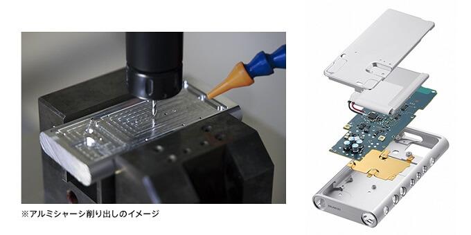 ウォークマン「NW-ZX300」高音質を追求した素材と設計