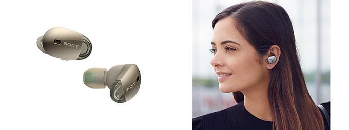 左右独立型「WF-1000X」左右独立型ワイヤレスヘッドホンで業界最高クラスのノイズキャンセリング性能