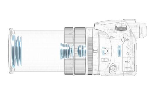 ソニー サイバーショット「RX10 IV(DSC-RX10M4)」24-600mm大口径高倍率ズームレンズ