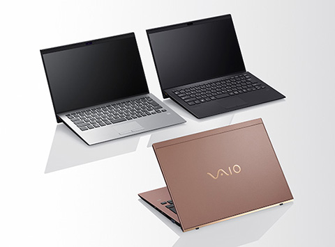 VAIO SX14「VJS1411」カラーバリエーション